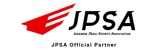 JPSA Official Partner of the Japanese Para-Sports Association
